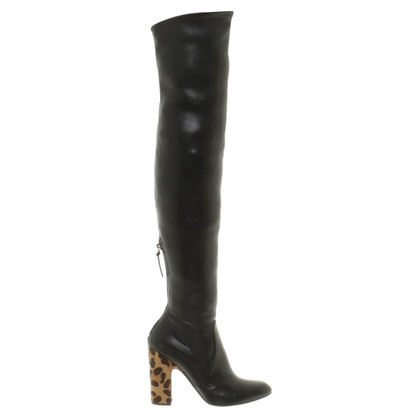 Francesco Russo Overknee boots