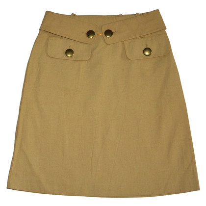 Chloé Brown Skirt with Belt