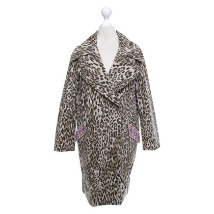 BAZAR deluxe Manteau avec imprimé léopard