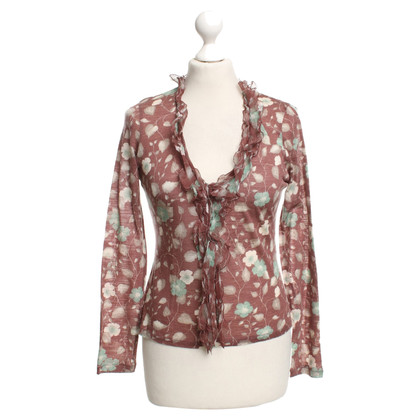 La Perla top with a floral pattern