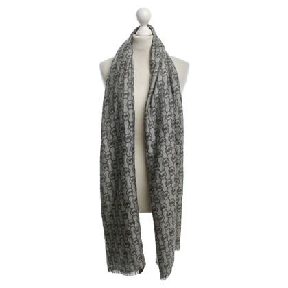 Michael Kors Sjaal in zwart / White