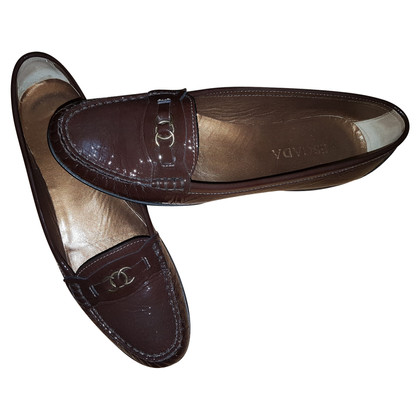 Escada  Lackleder Loafer