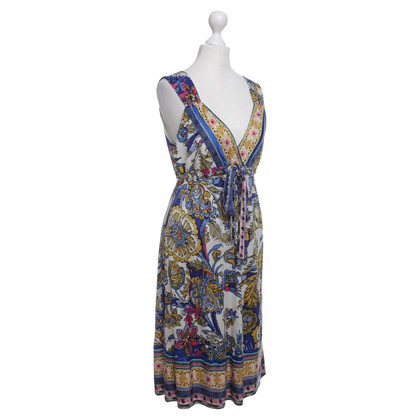 Hale Bob Silk dress with colorful patterns