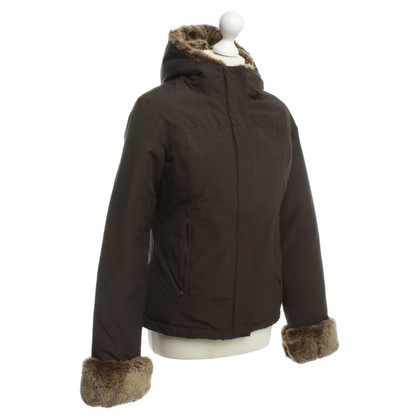 "Woolrich ""Giacca Boulder"" in marrone scuro"