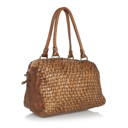 Campomaggi Bauletto leather bag in Brown