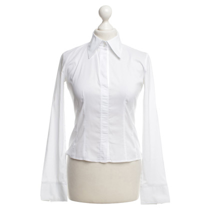 Hugo Boss Elegante blouse in het wit