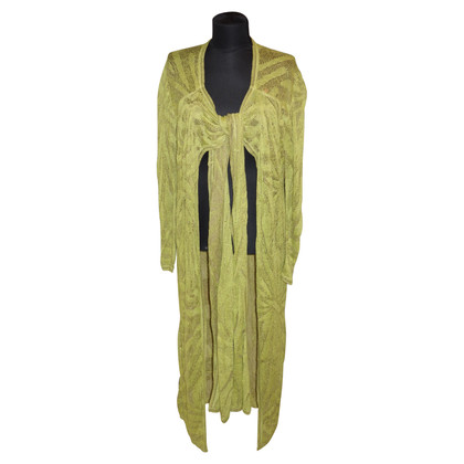 Missoni Knitted coat in green