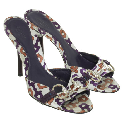 Gucci Mules with patterns