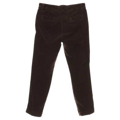 "Closed Trousers ""Jill"" in Marsala"
