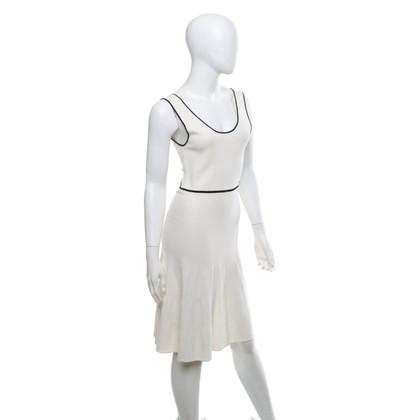 Twin-Set Simona Barbieri Robe en blanc crémeux
