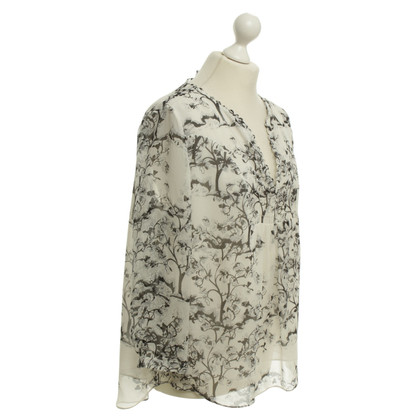 Diane von Furstenberg Blouse with floral pattern