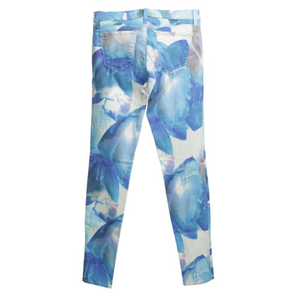 J Brand Jeans mit floralem Muster