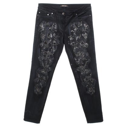 Roberto Cavalli Jeans in Black