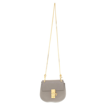 "Chloé ""E19611c7 Drew Bag"" in Taupe"