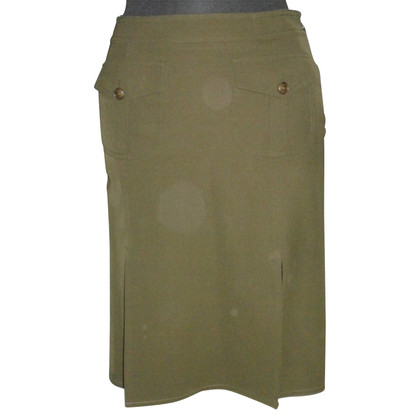 Moschino Cheap and Chic skirt military-style