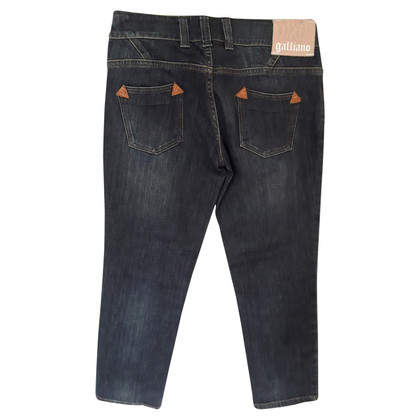 John Galliano  7/8 jeans in donkerblauw