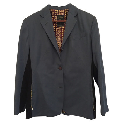 Jean Paul Gaultier Sporty Blazer in teal
