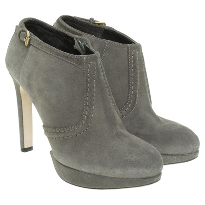 Hugo Boss Ankle Boots in Khaki