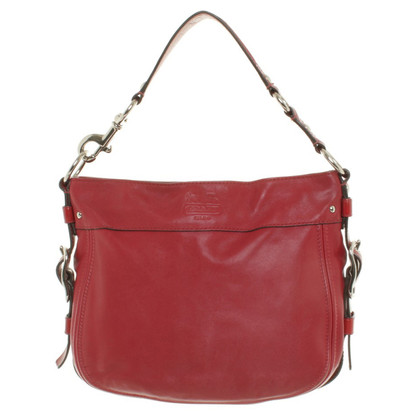 Coach Borsa in pelle in Red