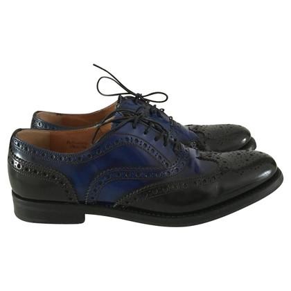 Church's Le scarpe con modello di pizzo