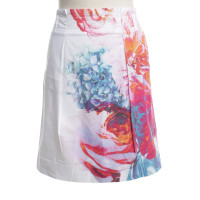 Marc Cain skirt with floral pattern