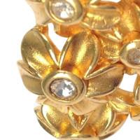 Lanvin Vintage Blüten-Brosche