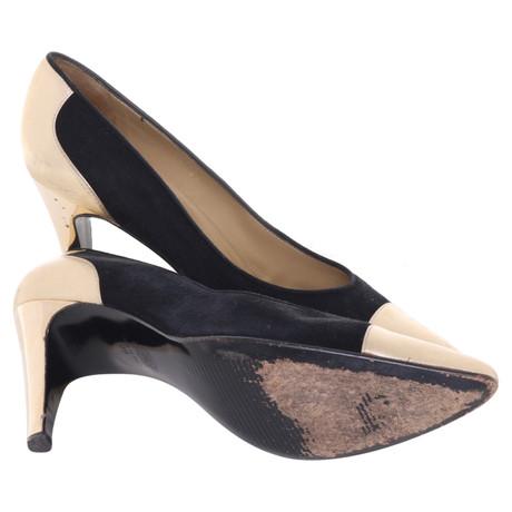 Günstig Kaufen Sehr Billig Gianni Versace Pumps in Schwarz/Gold Schwarz Aus Deutschland Zum Verkauf Rabatt Gutes Verkauf PAfdDHH5XL