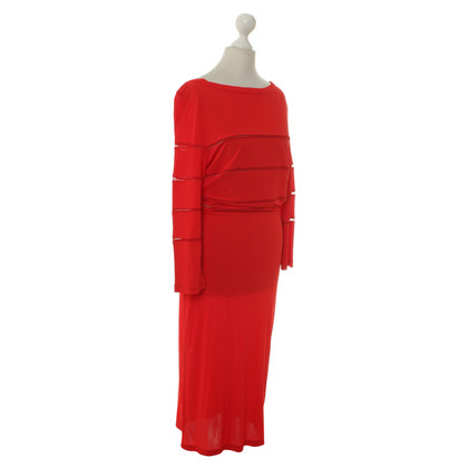 Jean Paul Gaultier Jurk in rood
