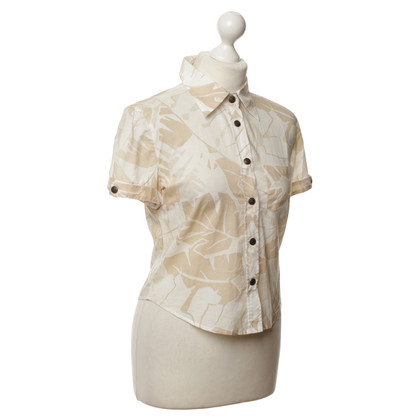 Armani Jeans Bluse mit floralem Muster