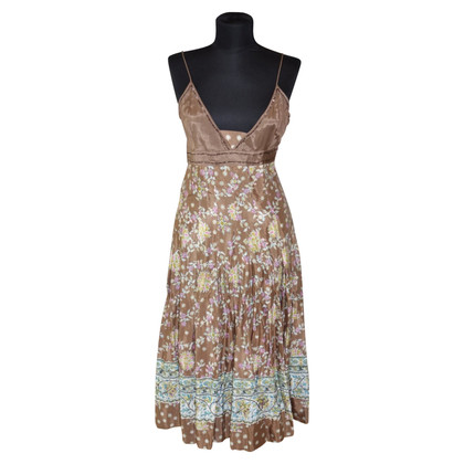 Blumarine Maxi dress with floral pattern