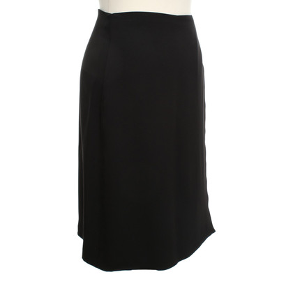 Maliparmi Wrap skirt in black