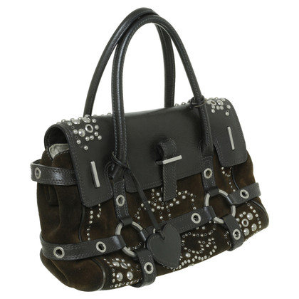 Luella Leather bag with rivets