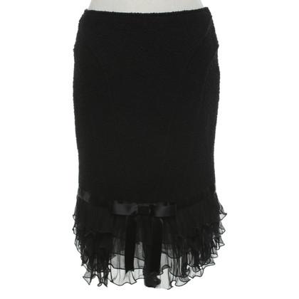 Blumarine skirt in black