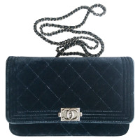 Chanel Flap Bag aus Samt