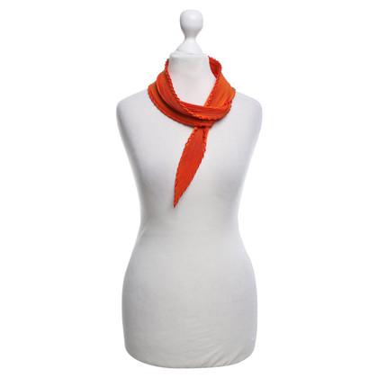 Hermès panno pieghe a Orange