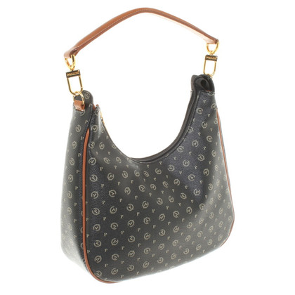 Pollini Handbag with logo pattern