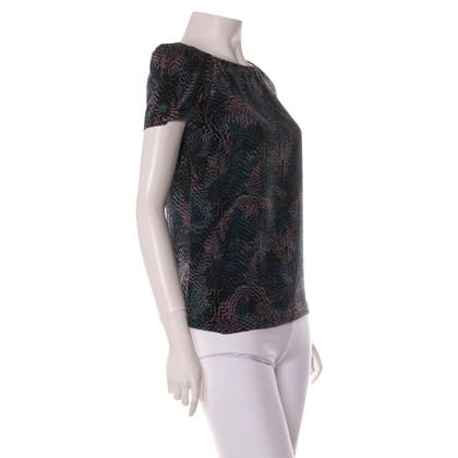 Maje Shirt with pattern