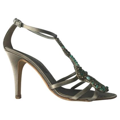 Alberta Ferretti Sandals with gemstones