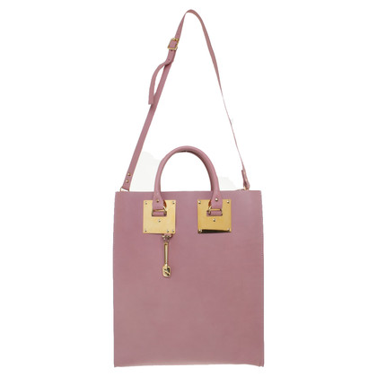 Sophie Hulme Tote Bag in oudroze