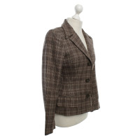 Dolce & Gabbana Checked blazer in brown