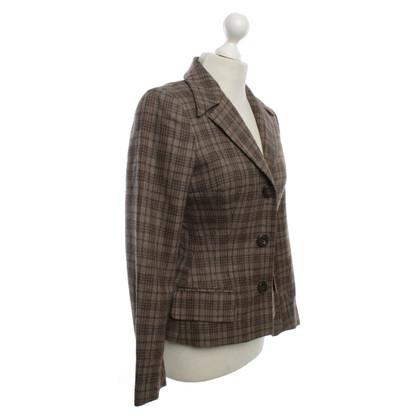 Dolce & Gabbana Checked blazer in brown