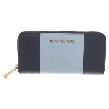 Michael Kors Porte-monnaie en bleu