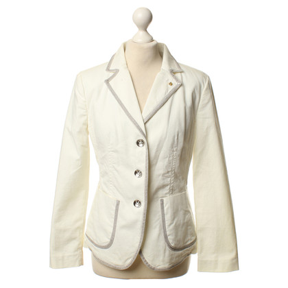 Blonde No8 Blazer in cream
