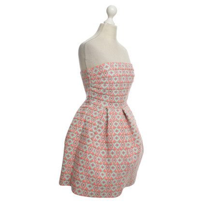 Manoush Bandeau dress with pattern