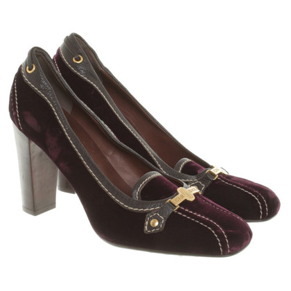 Car Shoe pumps velvet