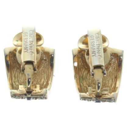 Christian Dior Oorbellen in goud