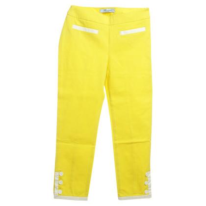 Blumarine Broek in het geel