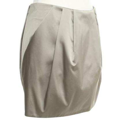 Marni Mini skirt in beige / grey