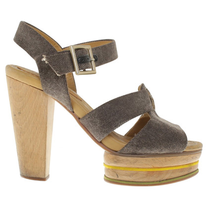 See by Chloé Sandals with wood block heel