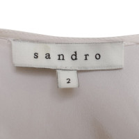 Sandro Silk top in white